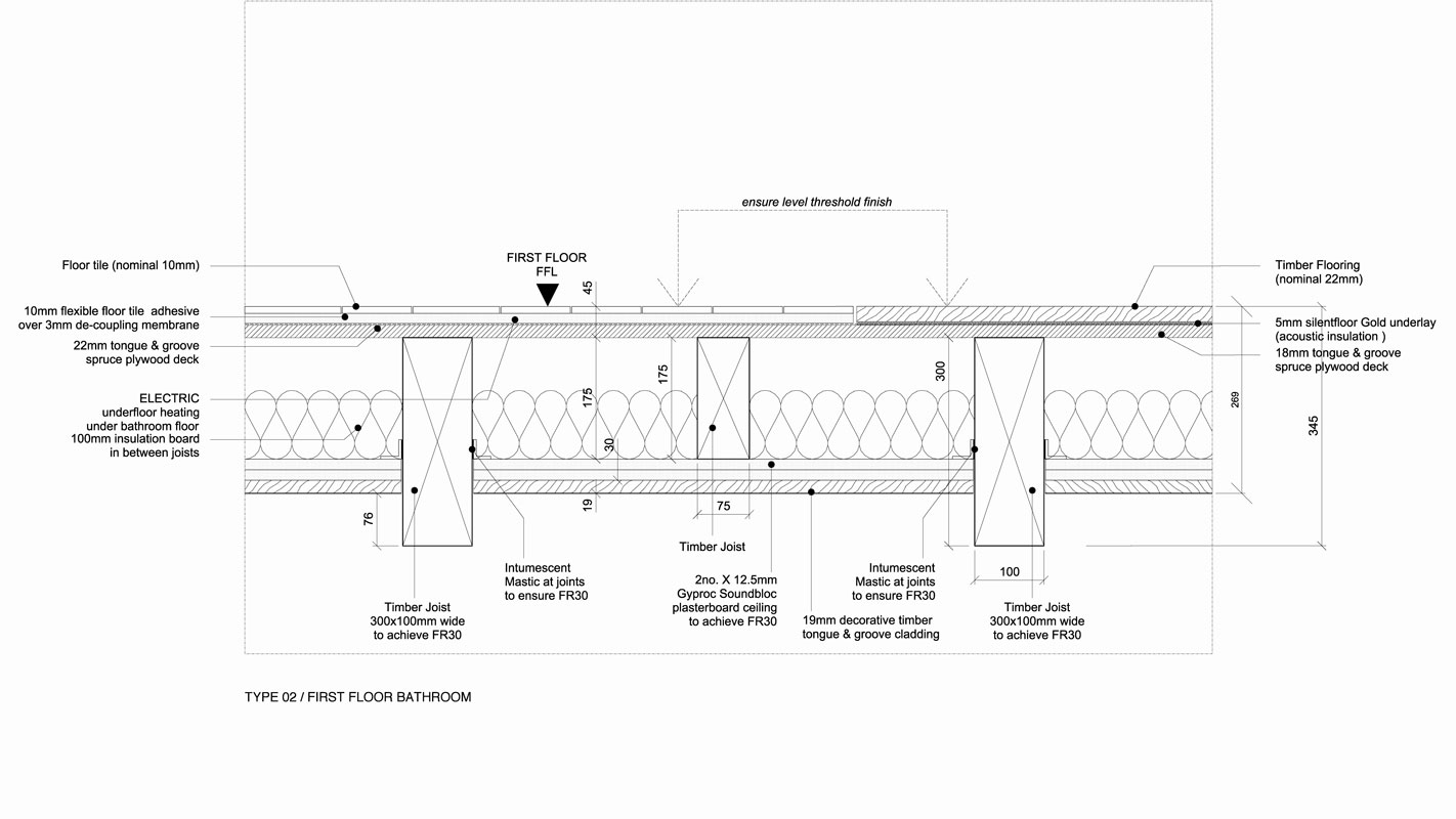 Wellington Row layout detail.